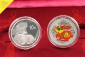 China 20 Yuan Jahr des Hasen Year of the Rabbit 2x 1oz Set Silber Proof 2011